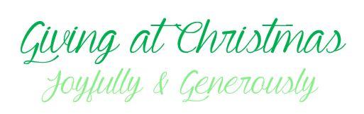 Christmasgiving