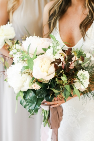 photo by Blue Barn, florals by Bowerbird Flowers, styling by Stephanie Shaul Events