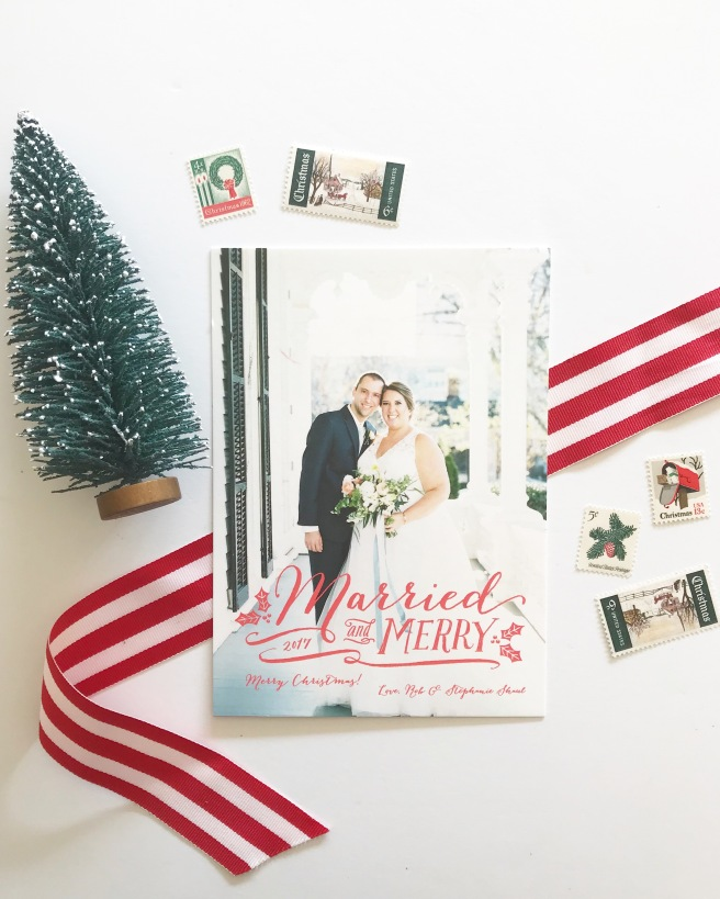 our 2017 christmas card raleigh wedding planner
