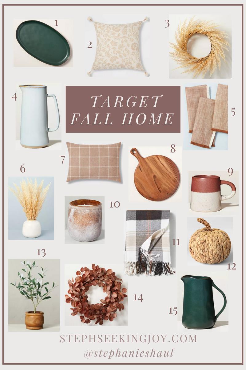 Target fall home